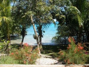 Laguna Bacalar from Casa Estrella de Bacalar's Terraza ©Susanna Starr