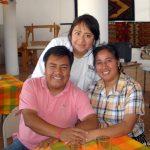 Diana, Karina and Pedro Montaño © Susanna Starr