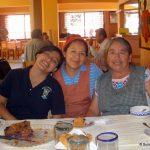 Sara, Marisela and Alicia Montaño