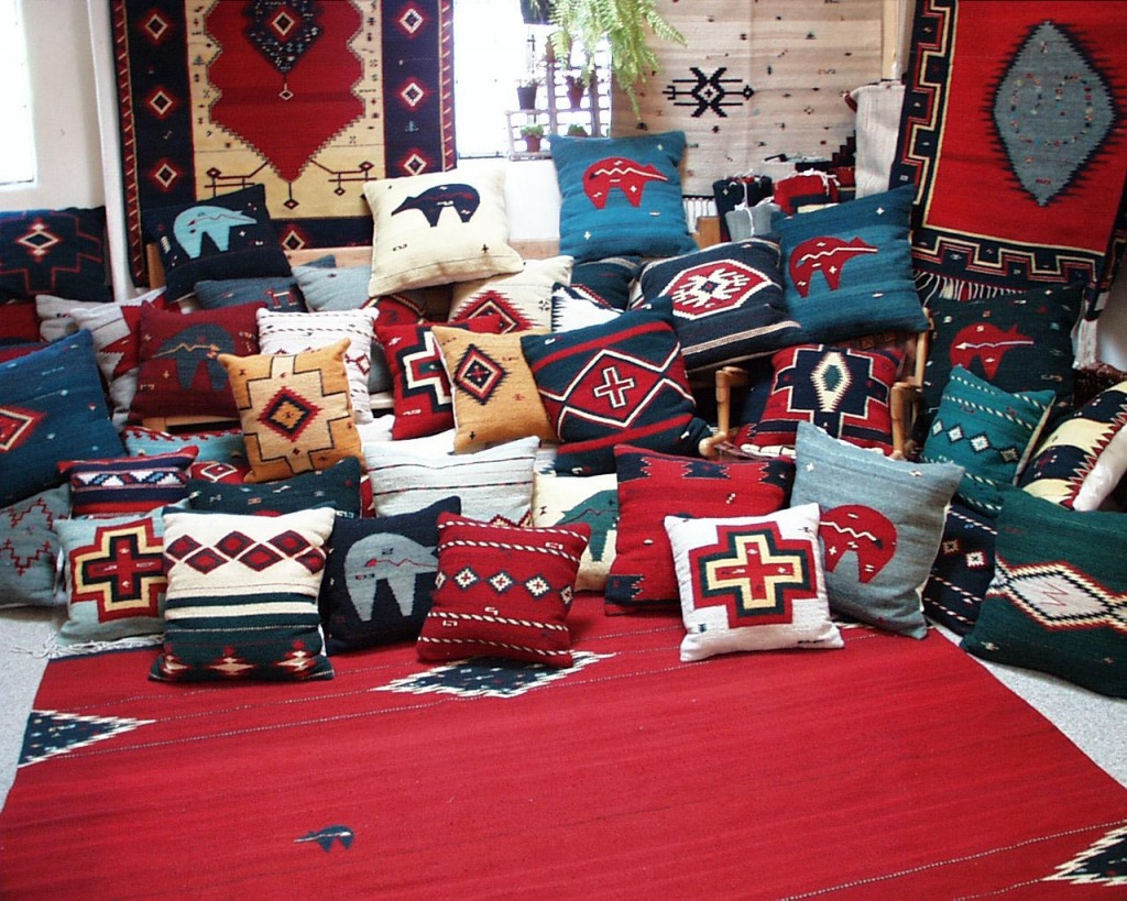 Selection of Line of the Spirit™ weavings