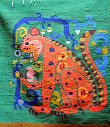 Jaguar and Heart - Triumph of the Spiritual over the Mundane