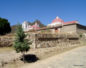 Village Church atop Ancient Zapotec Temple Ruins
